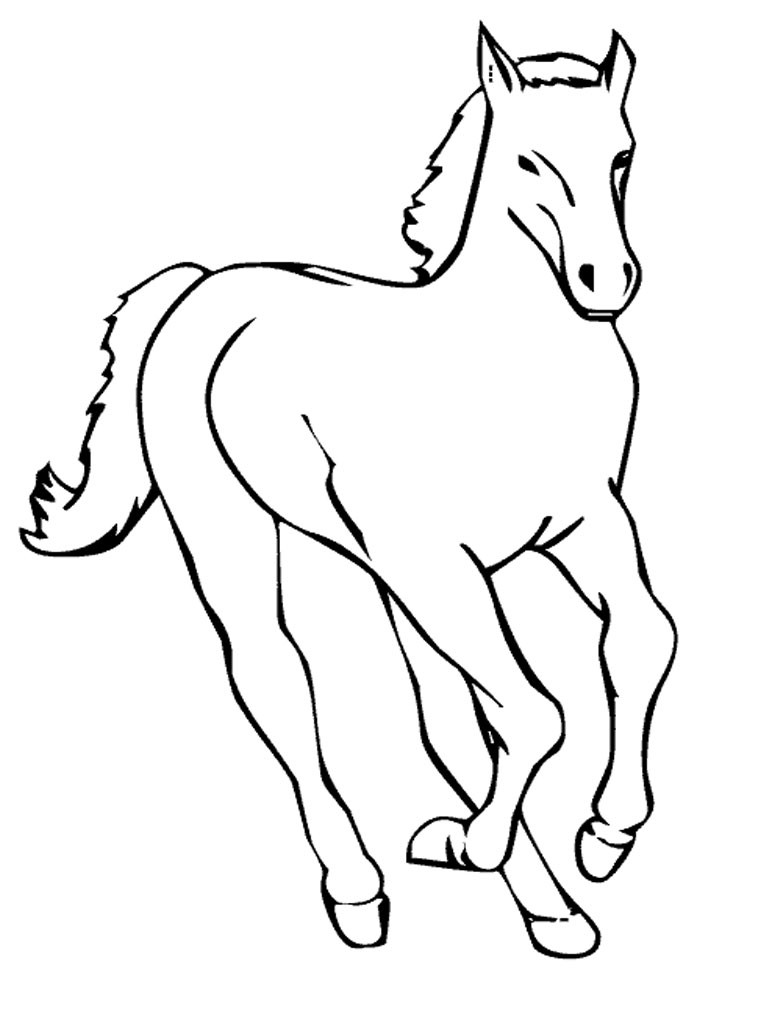 768x1024 Coloring Pages Horse Trailer Fresh Trend Coloring Page Horse 48
