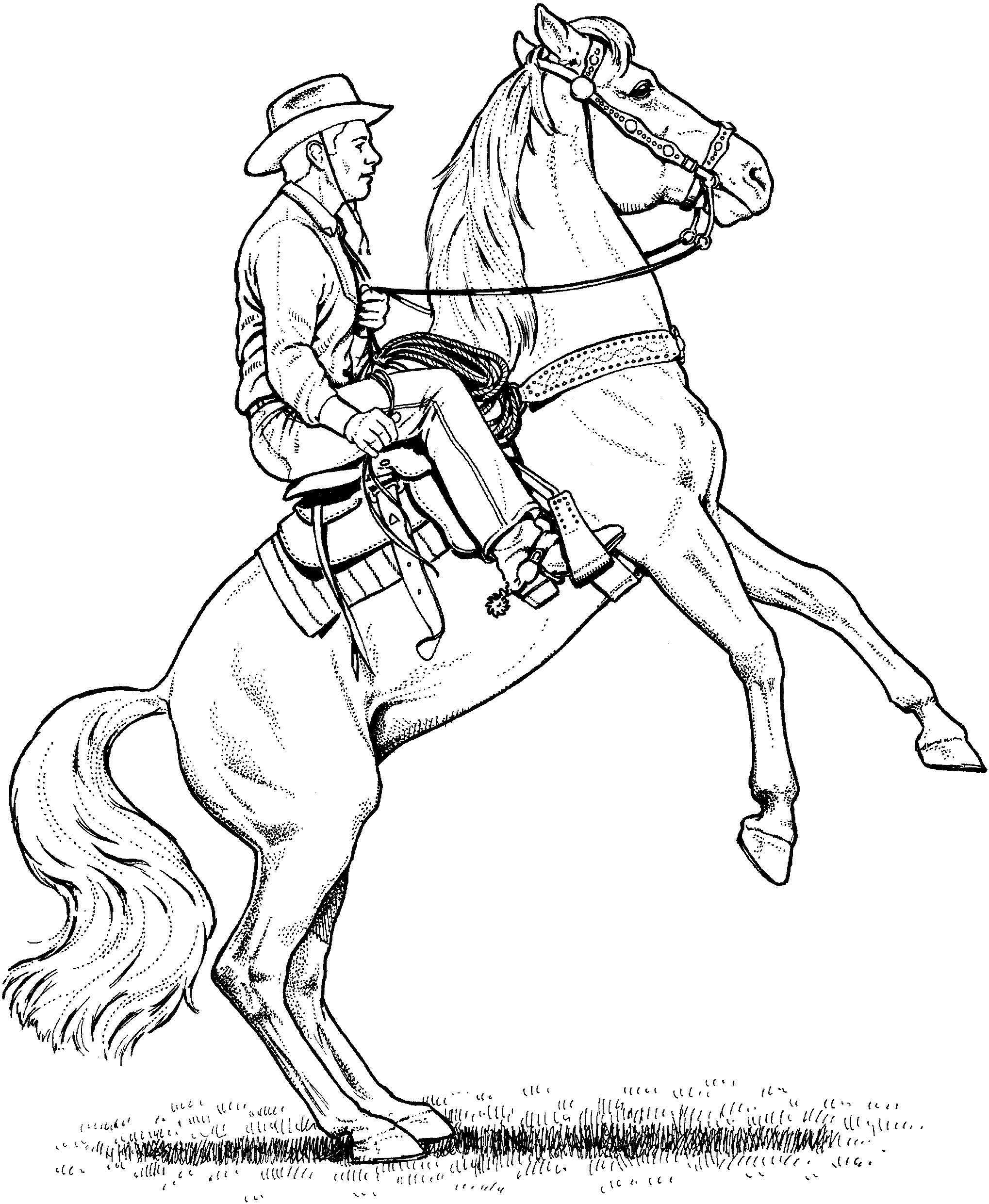 2038x2482 Coloring Pages Horse Trailer New Western Horse Coloring Pages