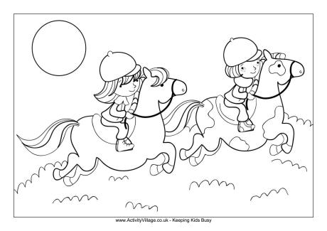 Horseback Riding Drawing at GetDrawings.com | Free for personal use ...