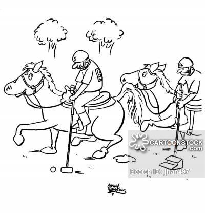 400x417 Horseback Riding Cartoons And Comics