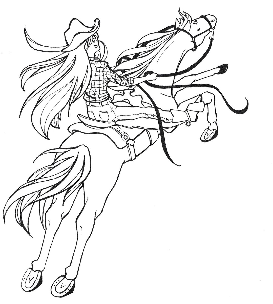 1079x1200 Horserider