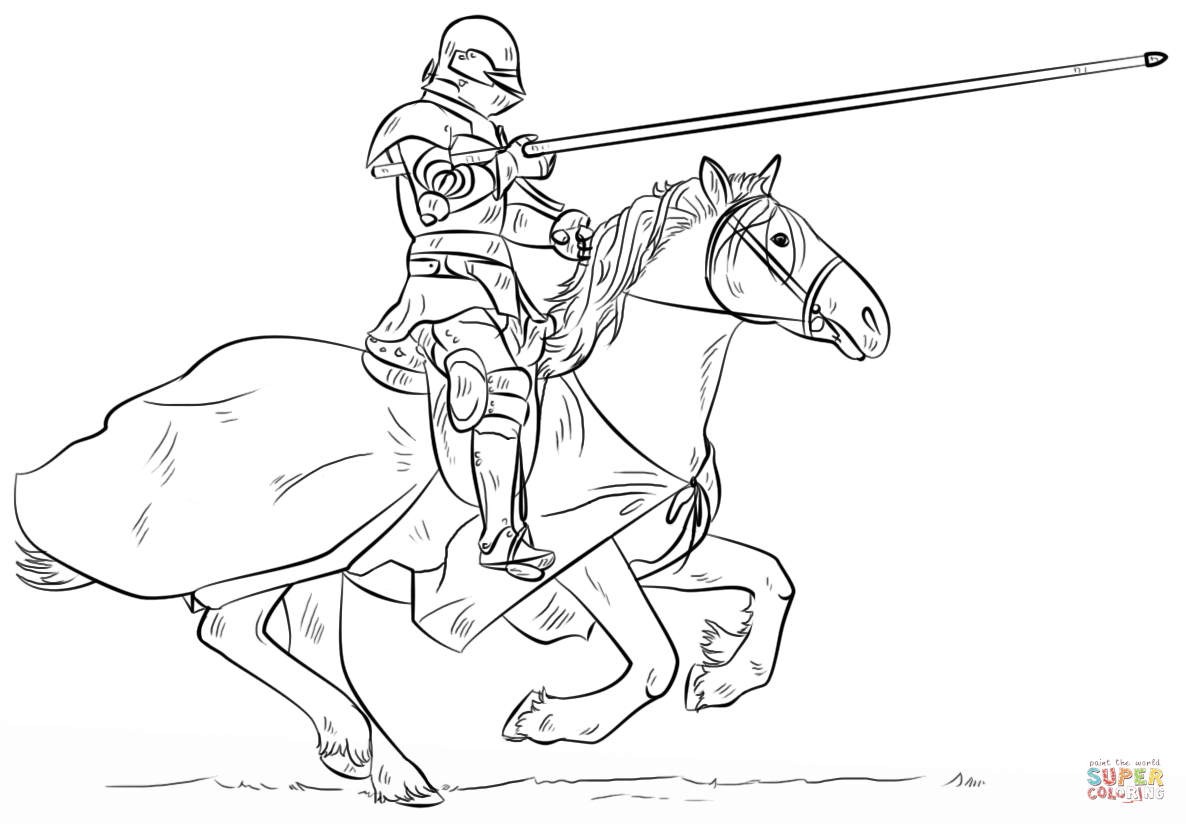 1186x824 Coloring Pages Of Knights And Horses Dinosaur
