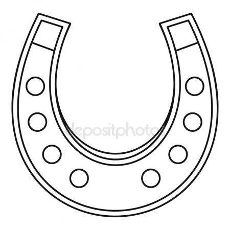 Horseshoes Drawing