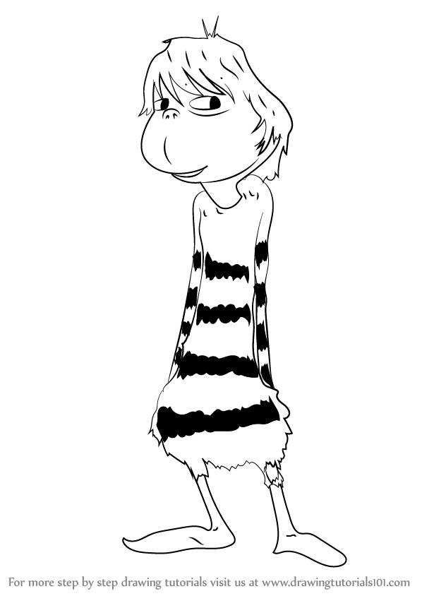 598x844 Learn How To Draw Jojo Mcdodd From Horton Hears A Who! (Horton