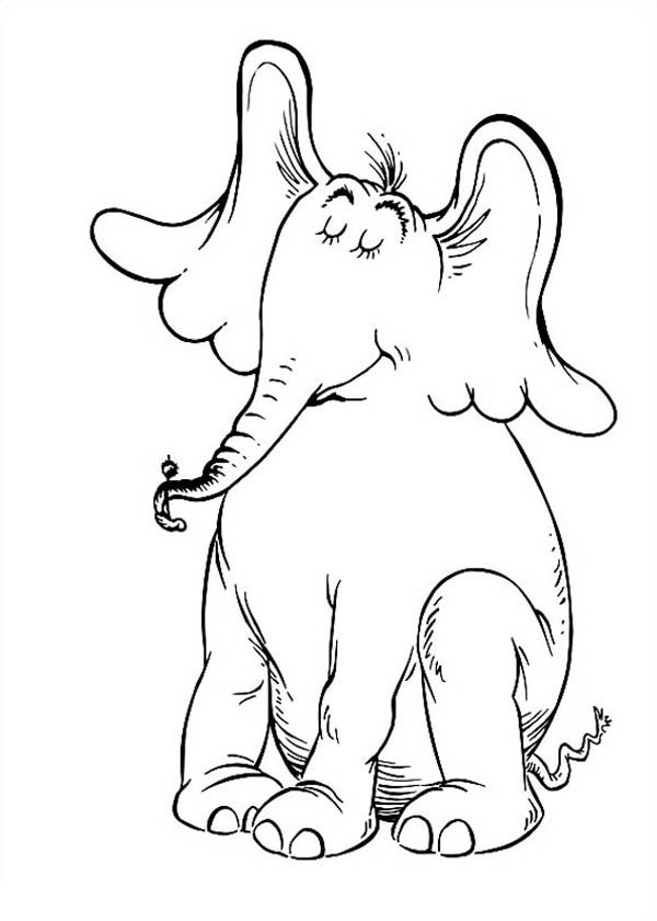 600x840 Horton Hears A Who Coloring Pages
