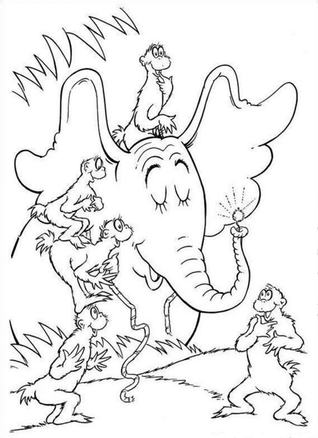 640x881 Dr. Seuss Quotes Coloring Pages Of Dr
