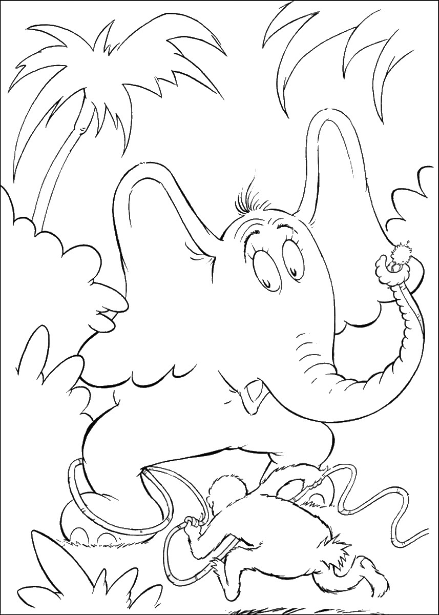 857x1200 Horton Hears A Who Coloring Pages