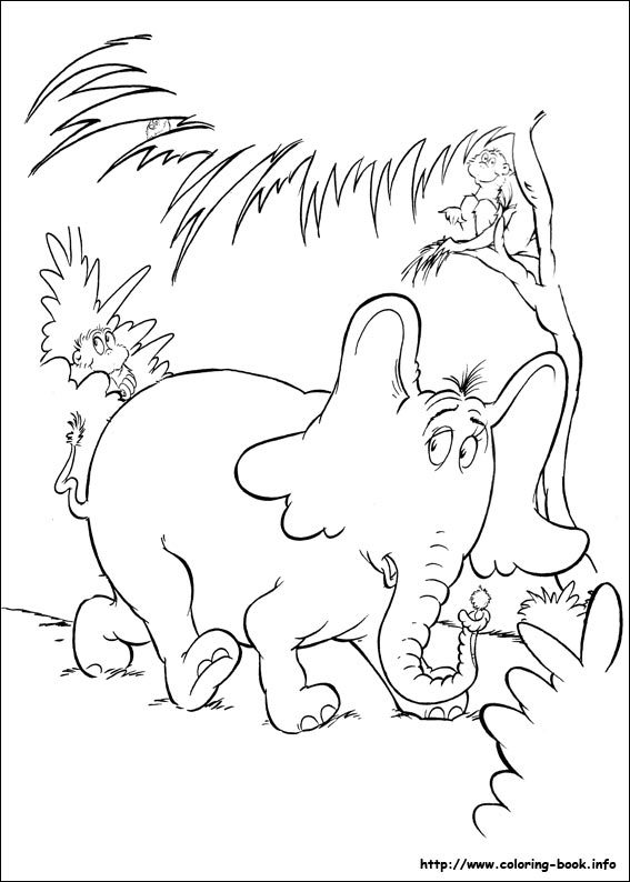 567x794 Horton Hears A Who Coloring Pages Coloring Page For Kids