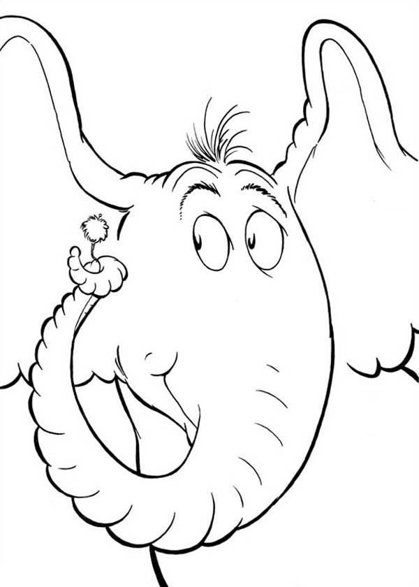 Horton The Elephant Drawing At Getdrawings Com