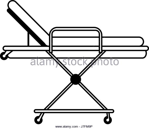 626x540 Hospital Bed Black And White Stock Photos Amp Images