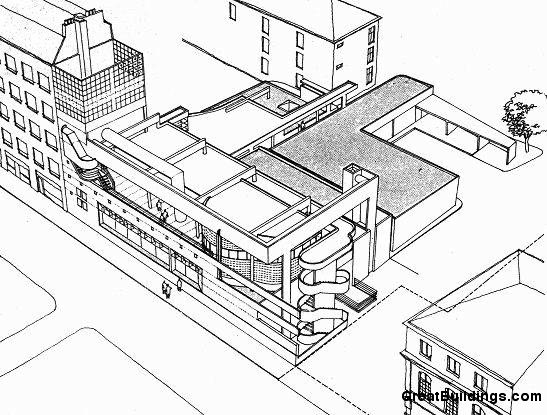 547x415 Great Buildings Drawing