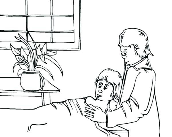 600x479 Hospital Coloring Pages Synthesis.site