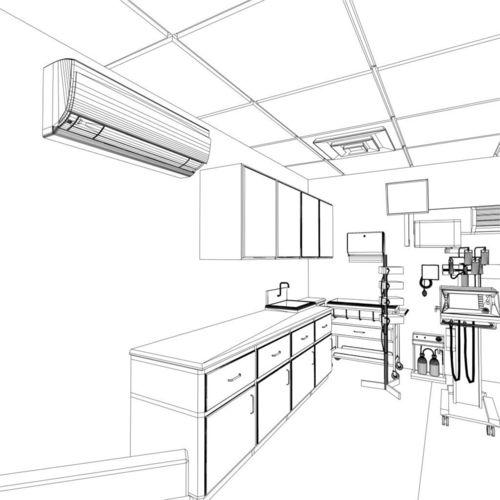 500x500 Drawn Room Hospital Room