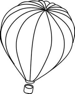 241x300 Hot Air Balloon Drawing Template Clipart Panda