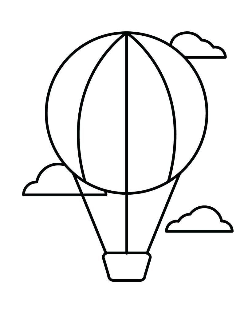 820x1060 Coloring Coloring Pages Of Balloons