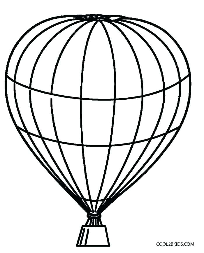 700x868 Coloring Pages Of Balloons Drawing Hot Air Balloon Coloring Pages