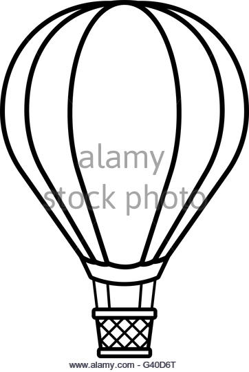 362x540 Hot Air Balloon Basket Black And White Stock Photos Amp Images