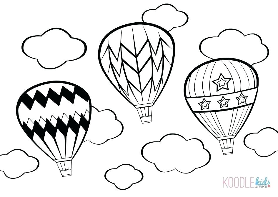 945x670 Hot Air Balloon Coloring Pages Click Hot Air Balloon Coloring Page