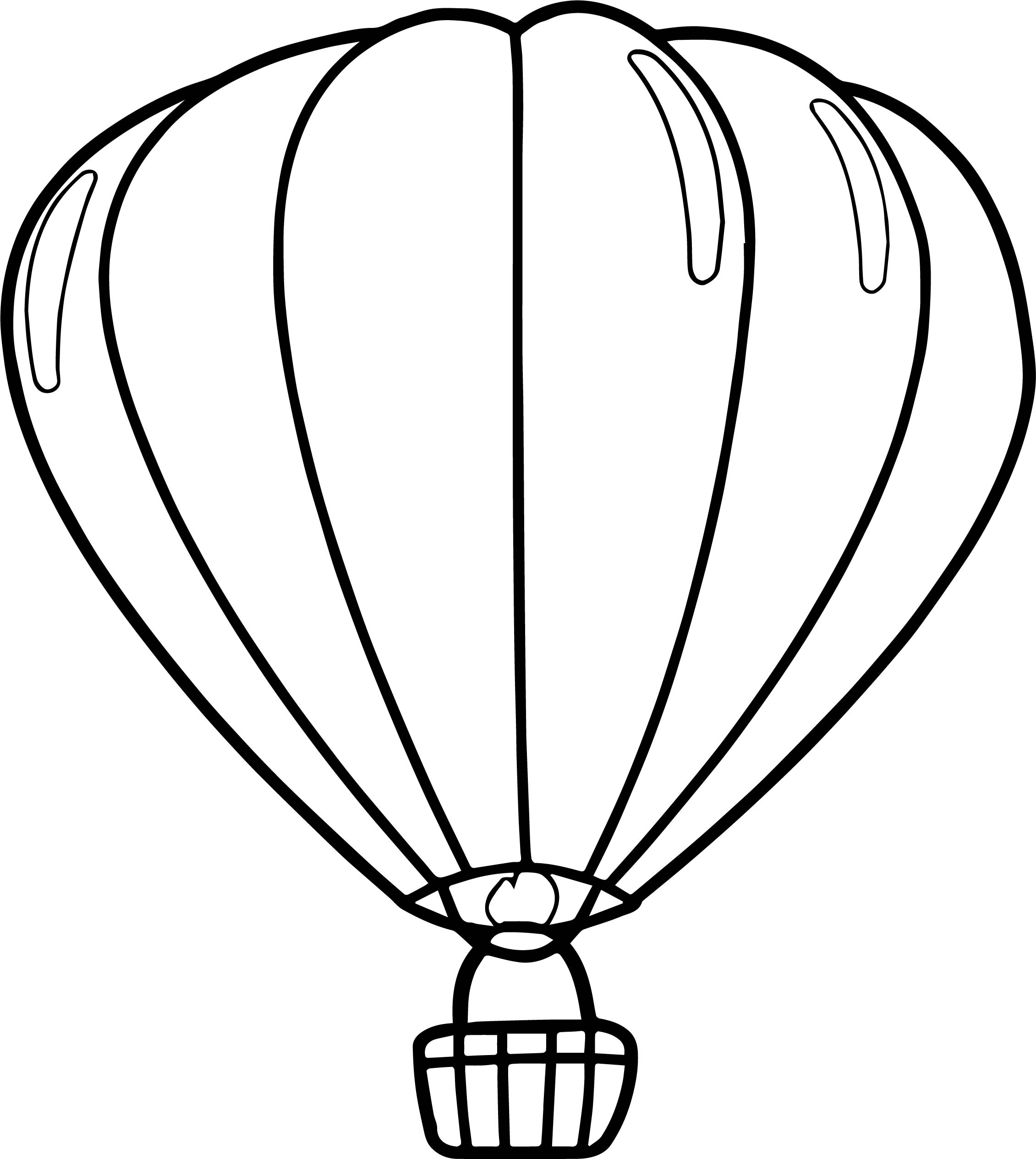 Hot Air Balloon Drawing Template at GetDrawingscom Free for