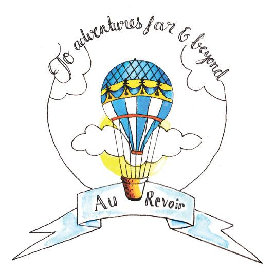 Hot Air Balloon Drawing Tumblr