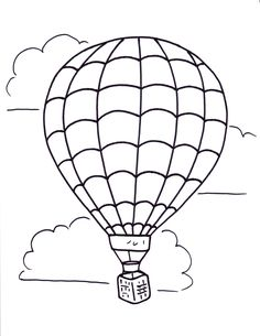 236x305 Hot Air Balloon Printable Digital Images From Birds Cards