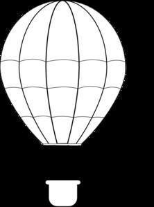 222x299 Hot Air Balloon Clip Art