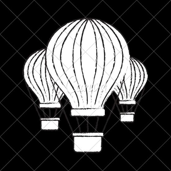 550x550 Three Air Balloons Travel Recreation