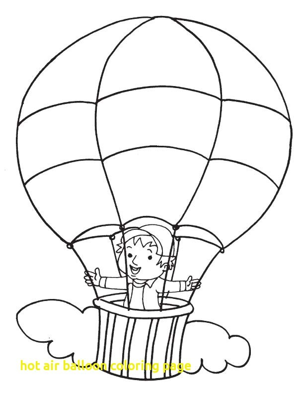 612x792 Hot Air Balloon Coloring Page With Hot Air Balloon Coloring Page