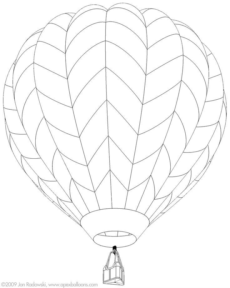 736x922 Hot Air Balloon Patterns 435577