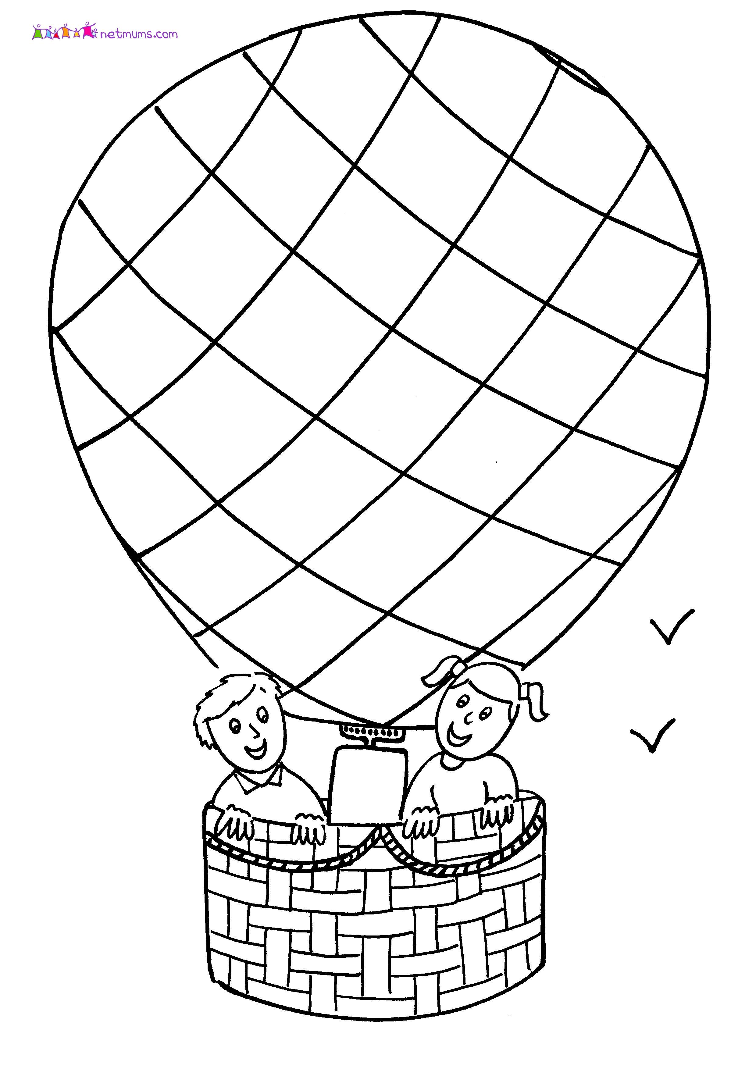 2480x3507 Hot Air Balloon