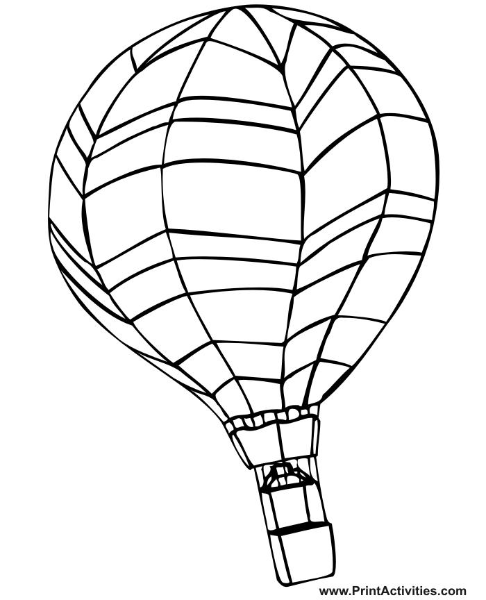 700x864 Hot Air Balloon