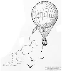 210x240 Image Result For Vintage Hot Air Balloon Drawing Tattoo