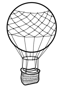 200x282 Drawing Of A Hot Air Balloon Drawn Hot Air Balloon Sketch Pencil