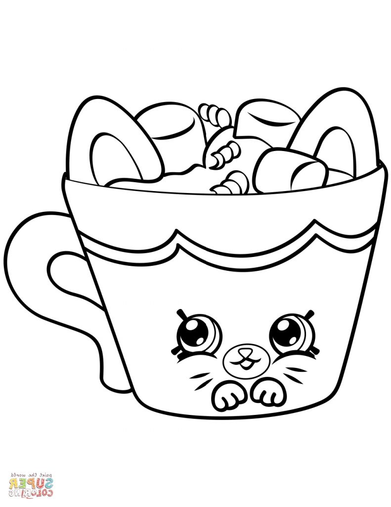 791x1024 Happy Hot Chocolate Coloring Page 6