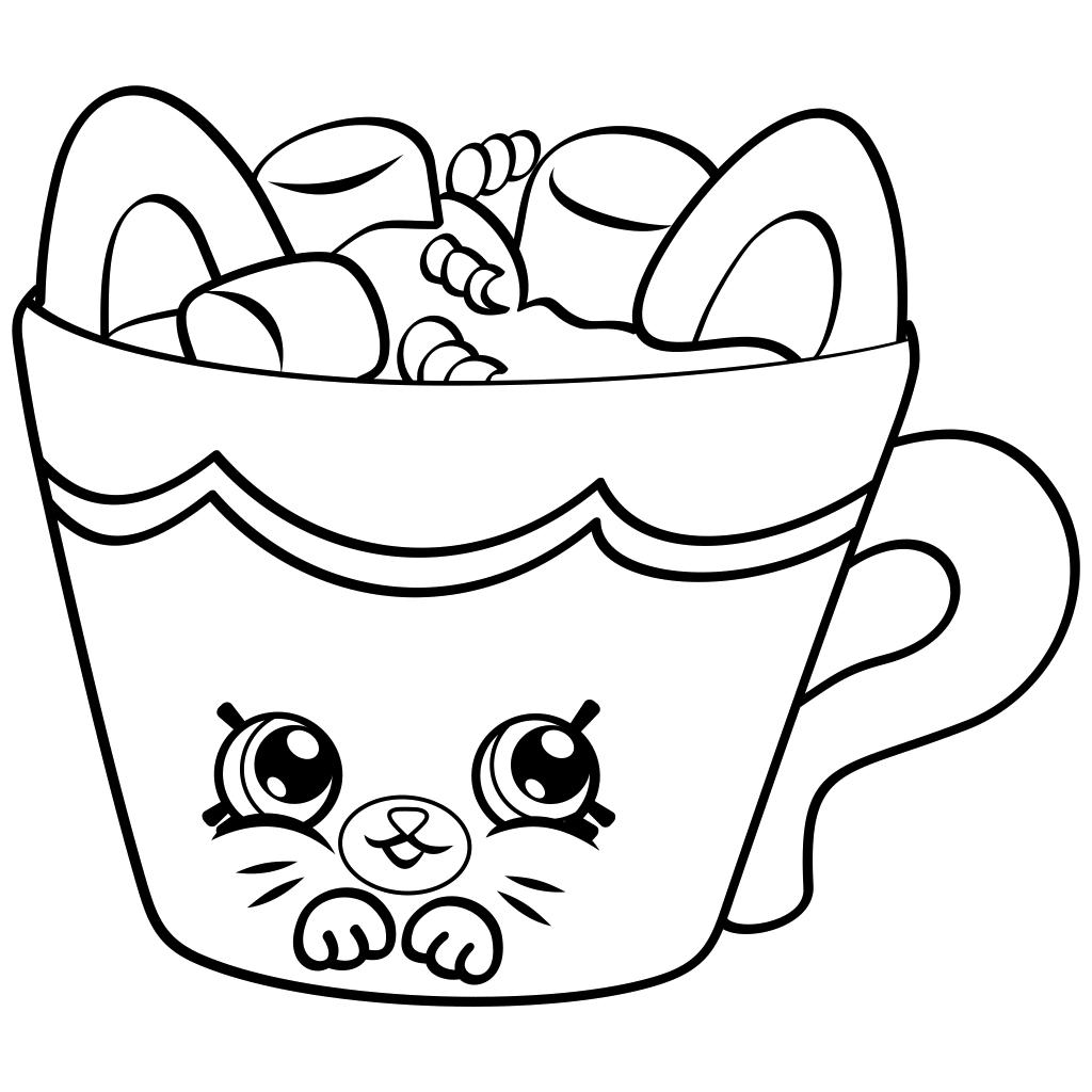 1024x1024 Hot Chocolate Coloring Sheet Hot Chocolate Mug Coloring Page