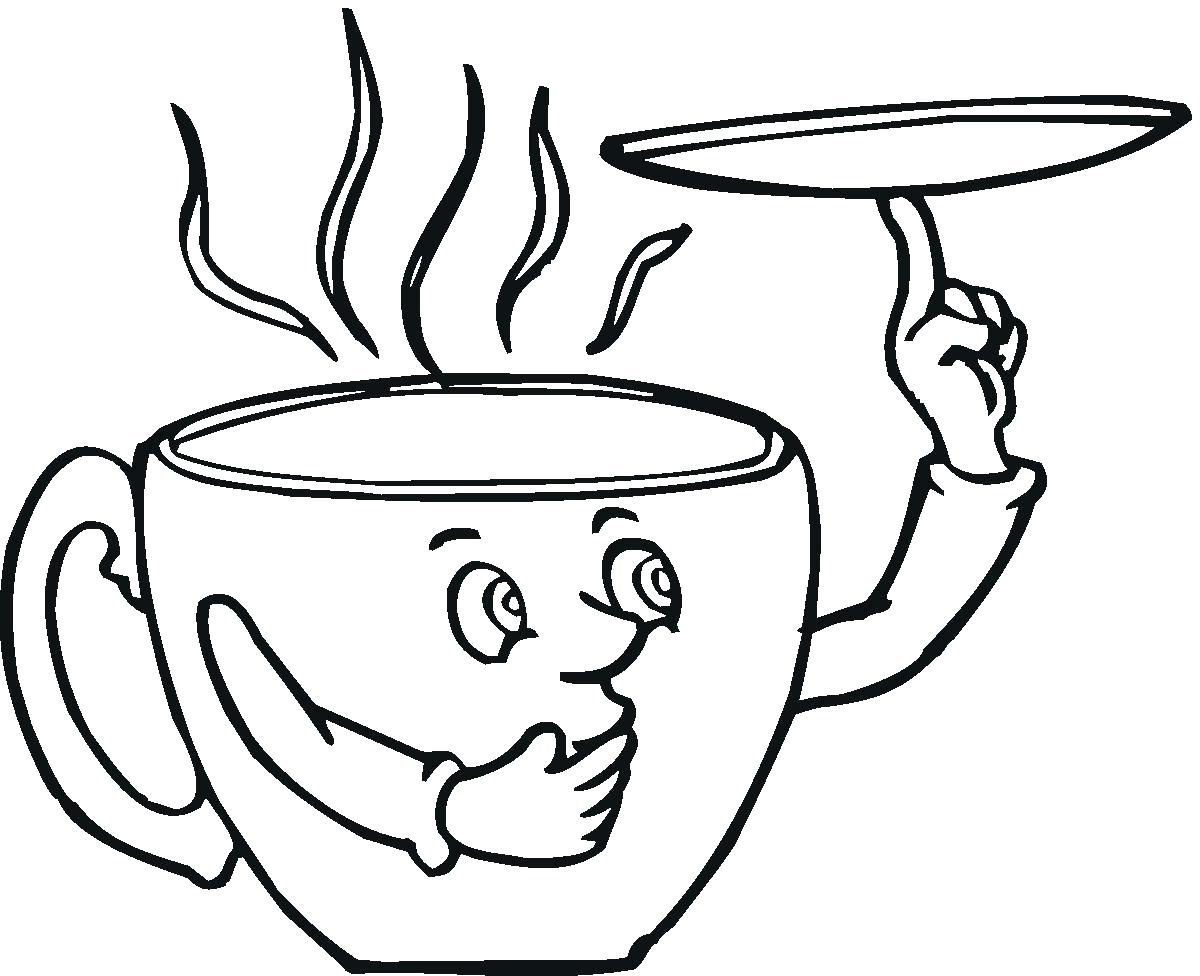 1200x976 Coloring Hot Chocolate Coloring Page Set Your Kids At The Table
