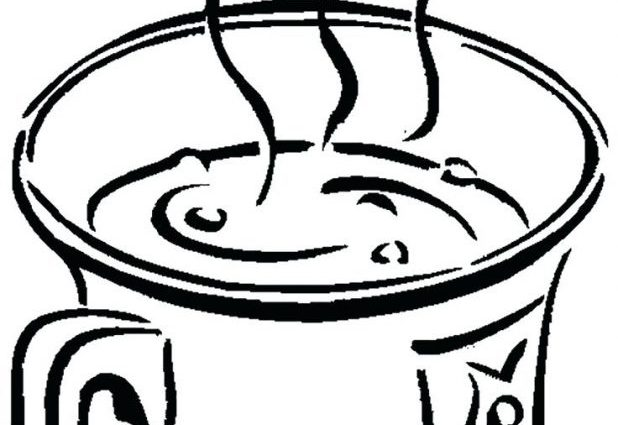 618x425 Cool Hot Chocolate Coloring Page Photos