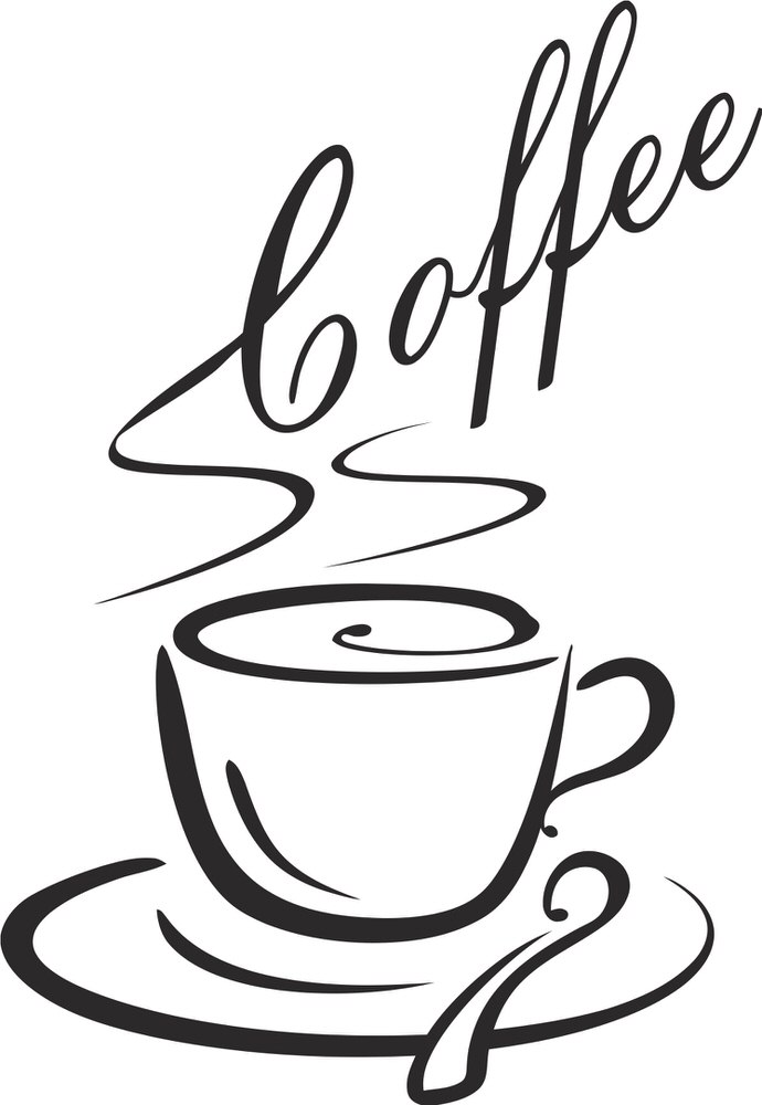 690x1000 Hot Coffee Vector Cdr File Free Download