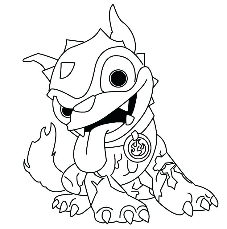 736x743 Skylanders Color Pages Coloring Pictures Coloring Pages Hot Dog S