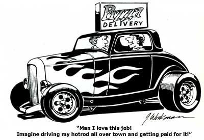 400x275 Hot Rod Cartoon Showcase From O'Neill Vintage Ford Uk