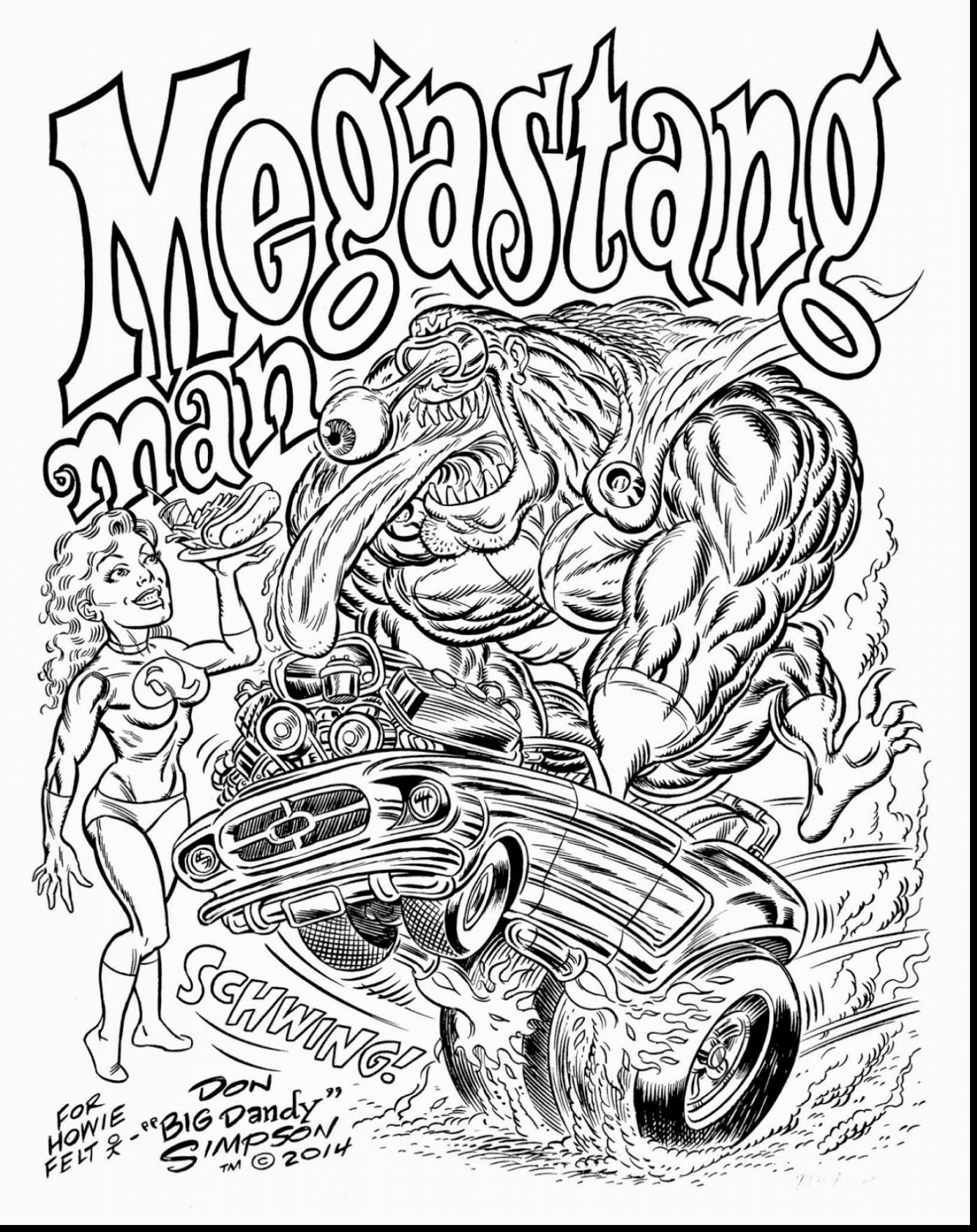 1395x1760 Remarkable Hot Rods Muscle Cars Coloring Pages With Hot Rod