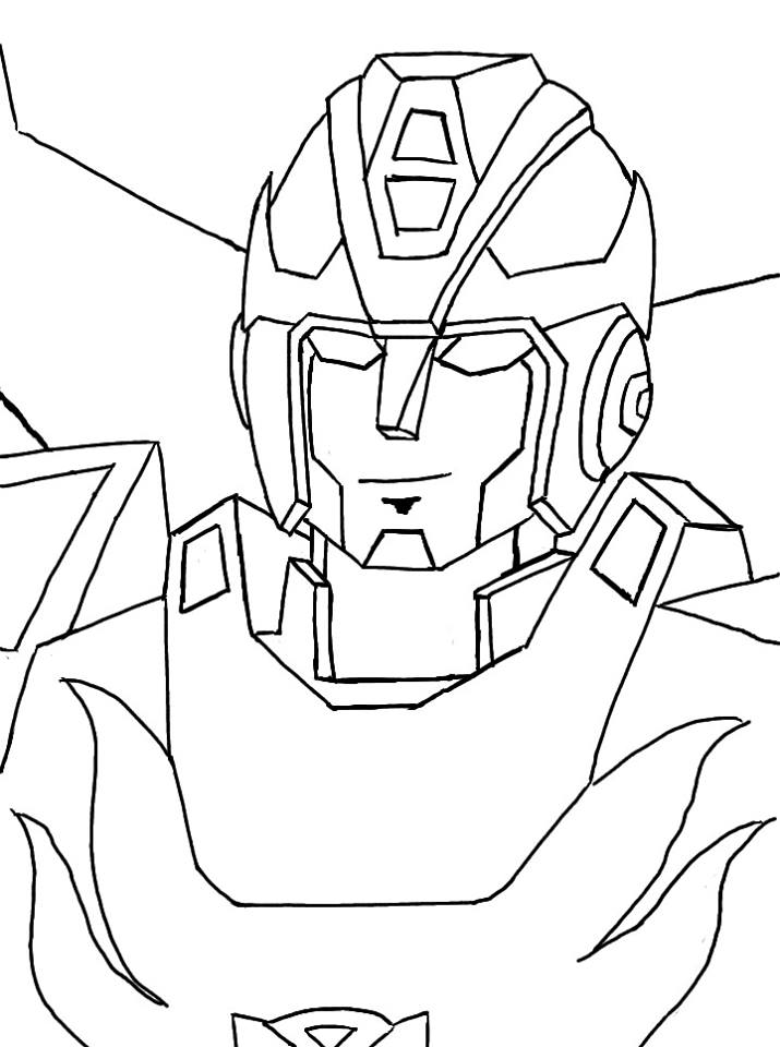 715x960 Rough Lines Transformers G1 Hot Rod By Razzitron
