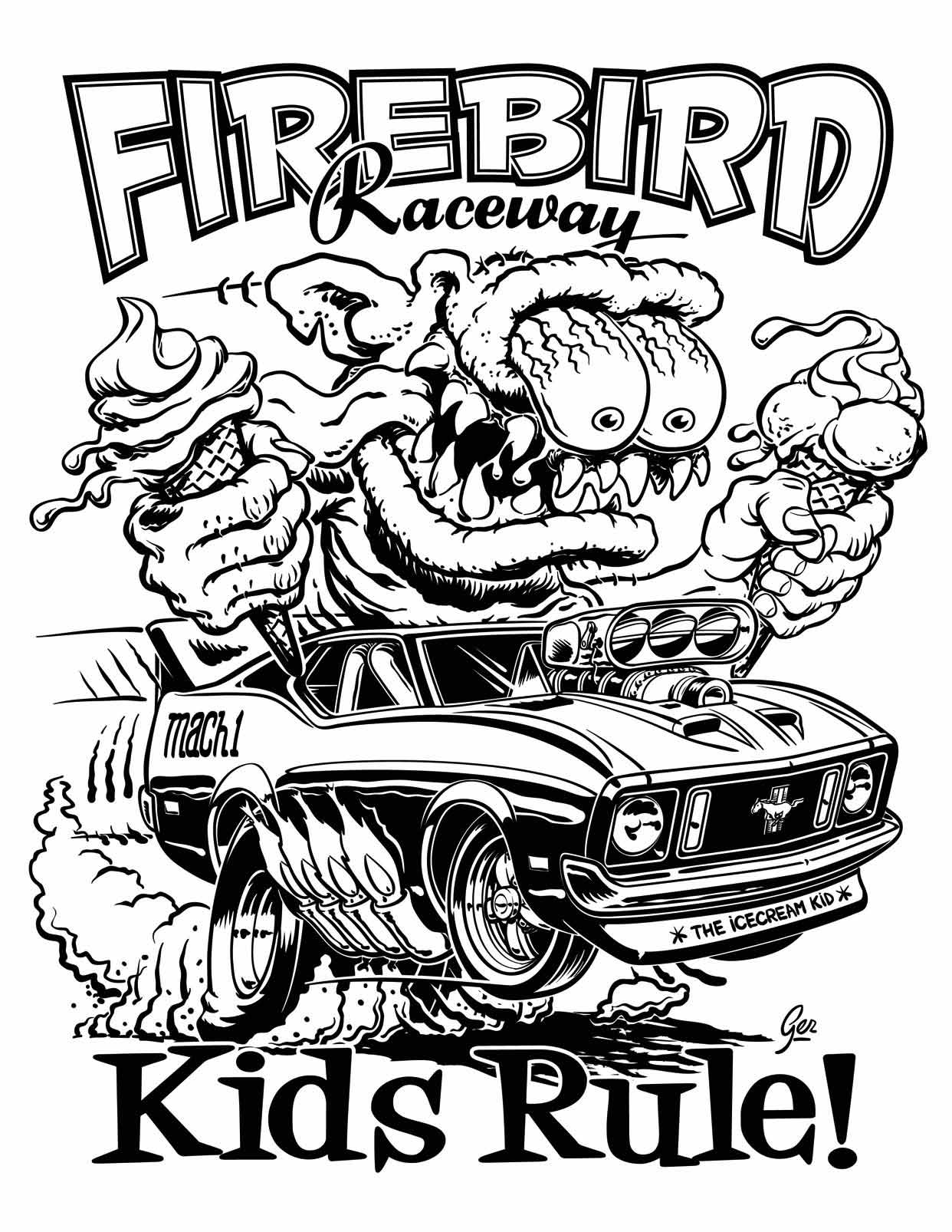 1242x1606 Hot Rod Coloring Pages