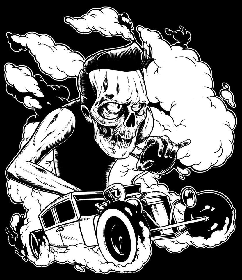 832x960 Zombie Hotrod By Zombie You