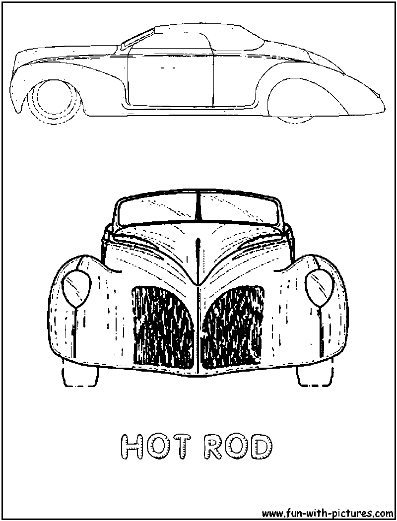 800x1050 More Cars Coloring Pages