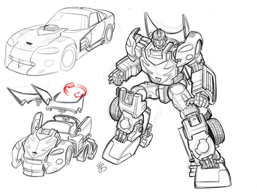 900x675 Transformers Hotrod Earth Mode By Ej Su