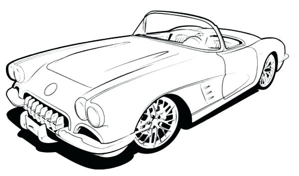 600x354 Corvette Stingray Coloring Pages Cars Hot Rod 9 Best Coloring