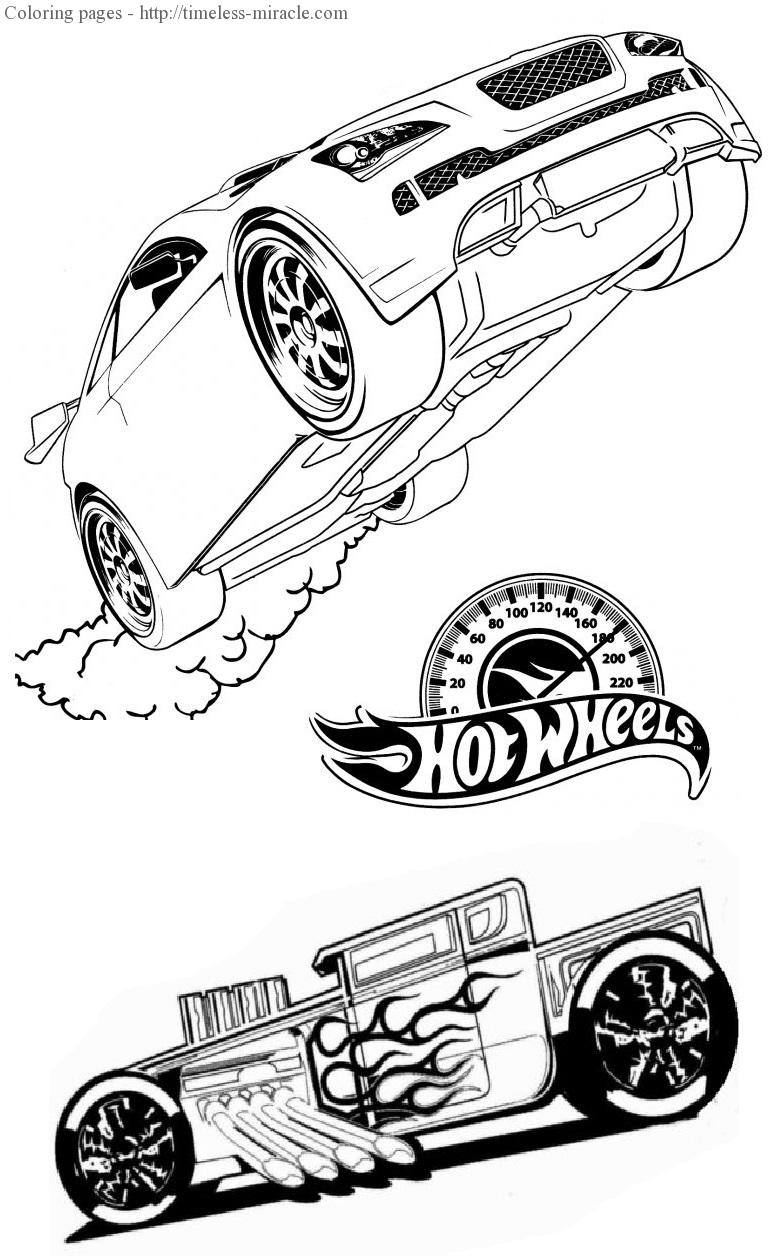 Hot wheels car drawing at free for for Hot wheels battle force 5 coloring pages