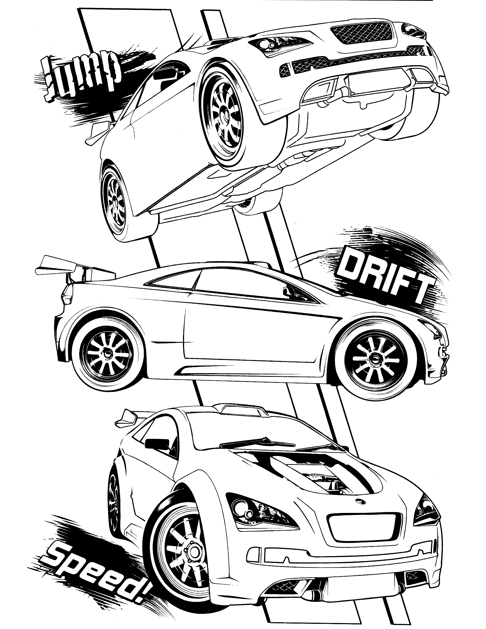 Team Hot Wheels Kleurplaten.Hot Wheels Logo Coloring Page