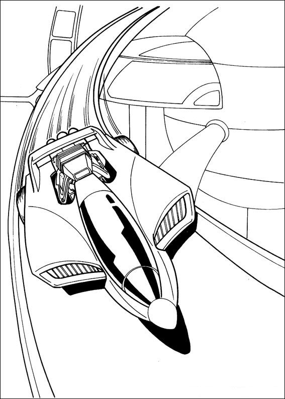 567x794 Kids N 41 Coloring Pages Of Hot Wheels